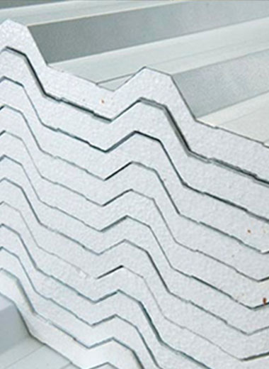 Fabricação de telhas passos